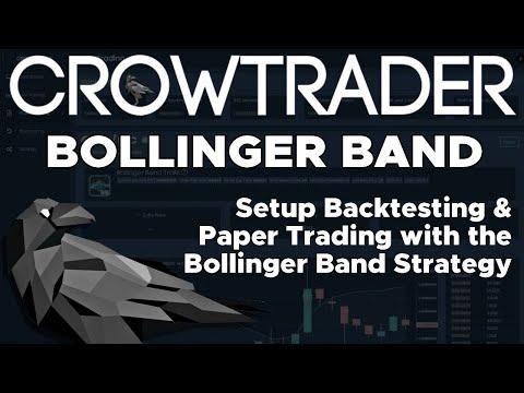CrowTrader Bollinger Band Strategy & Backtesting - Bot Trading