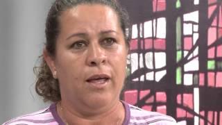 Testemunho das Mãos Ensanguentadas - 06/11/2014 - Luciene Azareias - Santana da Vargem/MG
