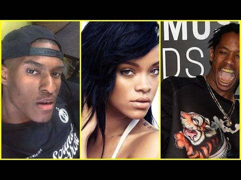 Rihanna Songwriter Threatens to Beat Up Travis Scott for Delaying Her Album.