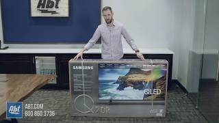 Unboxing The Samsung Q70R QLED…