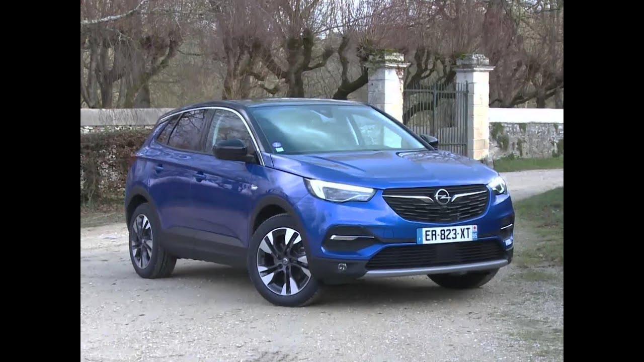 essai opel grandland x 1 2 ecotech turbo 130 ultimate 2017 youtube. Black Bedroom Furniture Sets. Home Design Ideas
