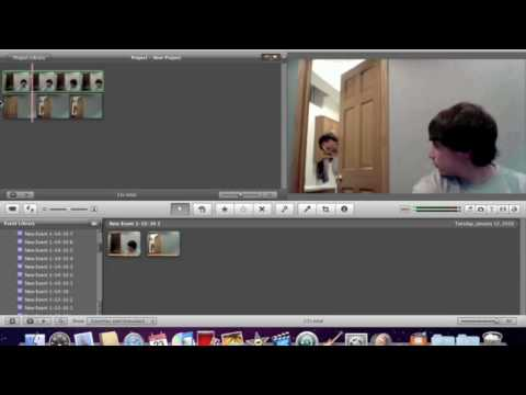 ( MAC ONLY! ) How To Make A Splitscreen Video Using IMovie '09 ( REALLY EASY! )