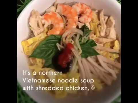 My Bun Thang Recipe (Vietnamese Chicken Soup)