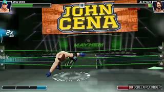 WWE John Cena vS AJ style