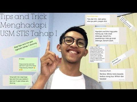 DD#3 - TIPS AND TRICK MENGHADAPI USM STIS TAHAP I
