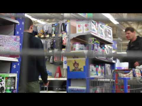 Tourettes in Walmart