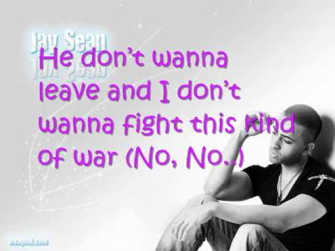JAY SEAN  WAR *WITH ON SCREEN LYRICS*