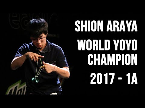 Shion Araya - 1A Final - 1st Place - World Yoyo Contest 2017