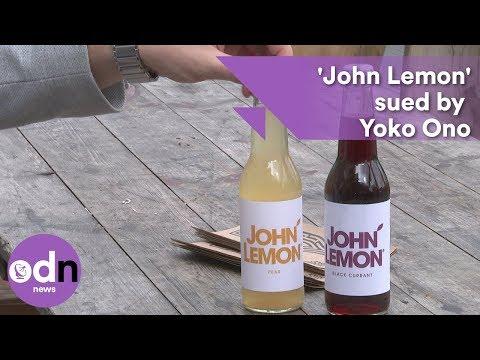 'John Lemon' sued by Yoko Ono