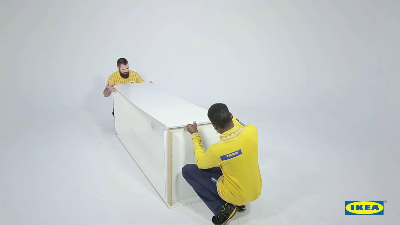Instrucciones montaje ikea armario pax youtube - Ikea coste montaje ...