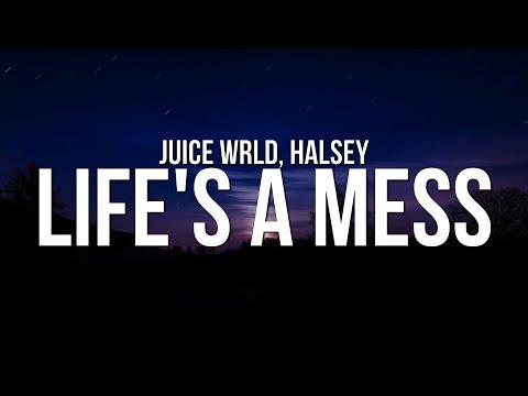 Juice WRLD - Life's A Mess (Lyrics) ft. Halsey