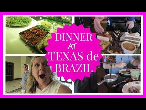 Dinner At Texas De Brazil | Huntsville Alabama | June 2017