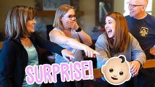 Telling Our Parents & Family We're Pregnant! They Had NO IDEA!