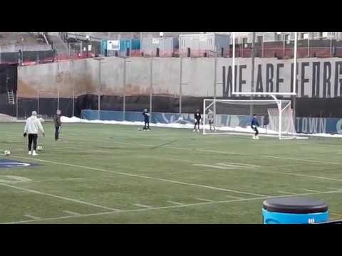 Jacob Camacho Georgetown Winter ID Clinic 2019 Goalkeeper Highlights