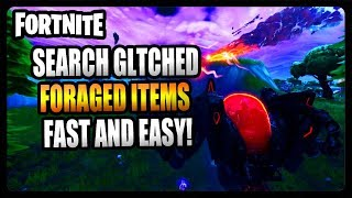 """Consommer glitched Foraged Items"" FASTEST et EASIEST Way! (Fortnite Saison 10)"