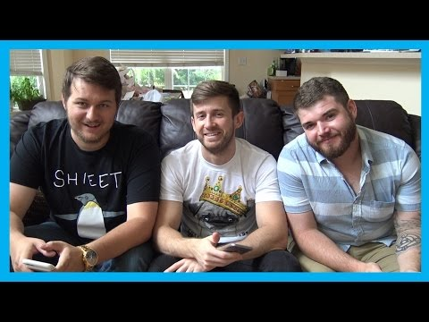 3 Questionably Heterosexual Men Sit on a Couch and Answer Stupid Questions. (Late PAX East 2016 Q&A)