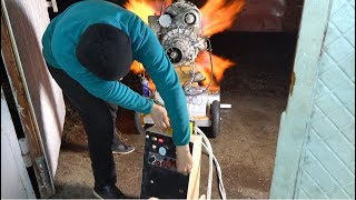 Разнесло ГАЗОТУРБИННЫЙ двигатель - изучаем последствия