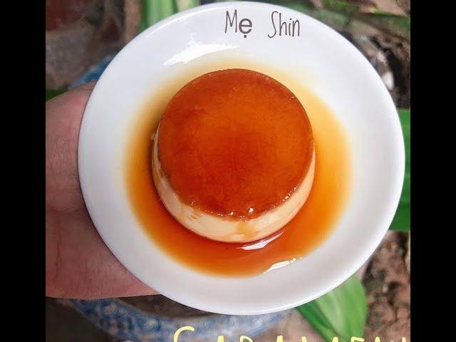 Cách Làm Món Bánh Caramen Trứng Gà Cho Bé Ăn Dặm