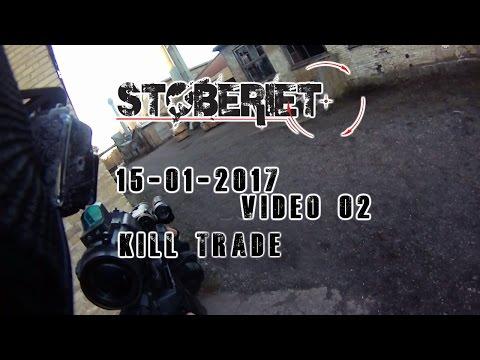 Airsoft | Skirmish Støberiet Hardball Holbæk | Kill-trade | 15 jan. 2017