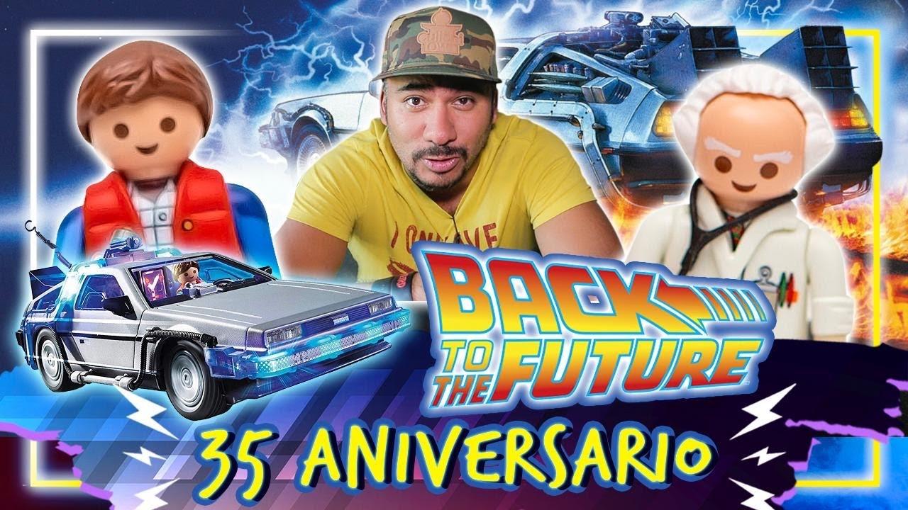 Playmobil VOLVER AL FUTURO con Marty Mcfly y el Doc #Unboxing