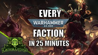 EVERY 40k Army in 24 Minutes!  Warhammer 40k Faction Guide