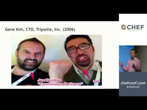 """#ChefConf 2014: Gene Kim, """"How Do We Better Sell DevOps?"""""""