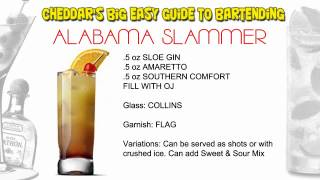Cheddar's Cocktail Recipes: Alabama Slammer