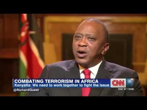 UHURU KENYATTA INTERVIEW WITH CNN RICHARD  QUEST