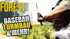 BASEBAU, TURM & MEHR! - The Forest - SE9|Part4 - LIVEseason