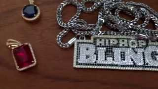 New Gold Pendants From HipHopBling.com