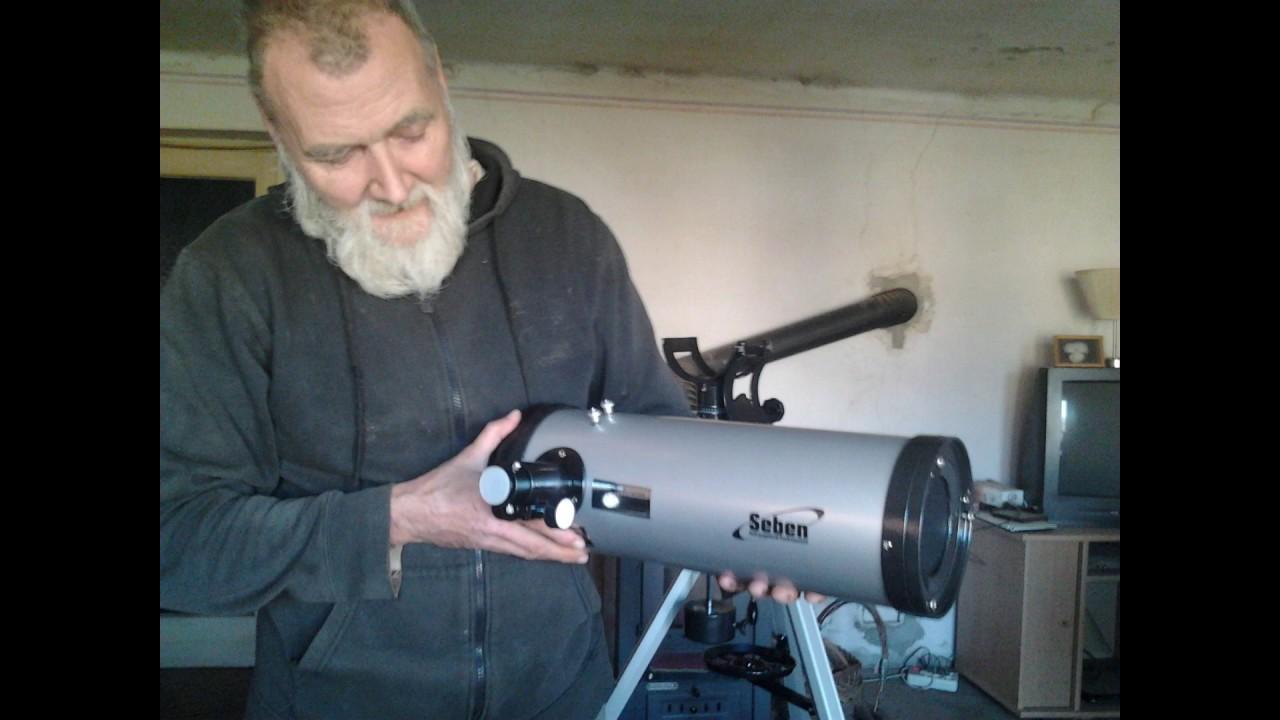 Seben star sheriff eq reflector telescope astronomy