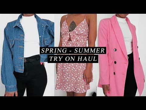 affordable spring/summer try on clothing haul | shein.