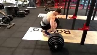 Становая тяга 240 кг на повторы. Первая проба за 5 лет. Алексей Шреддер