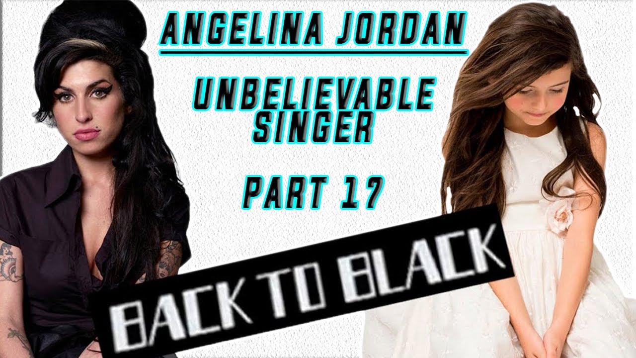 "REACTION   Unbelievable Singer Angelina Jordan Part 17   Amy Winehouse Cover ""BACK TO BLACK"""
