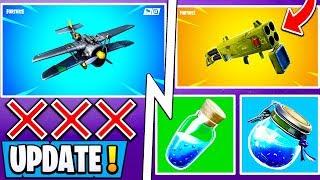 *NEW* Fortnite 7.21 Update! | Early Patch Notes, Shield Change, Vaulted items!