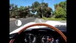 1965 Jaguar eType Roadster Test Drive in Sonoma Wine Country