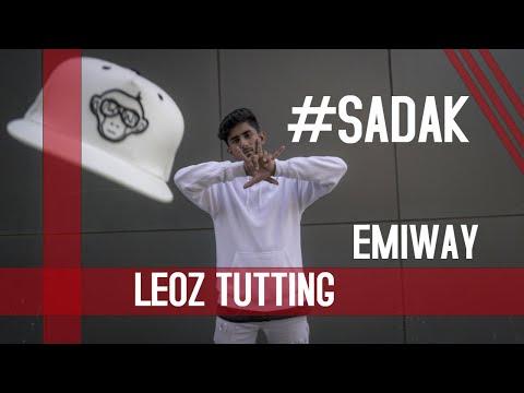 Sadak - Emiway | Leoz Tutting | Urban Monkey | Tutting India