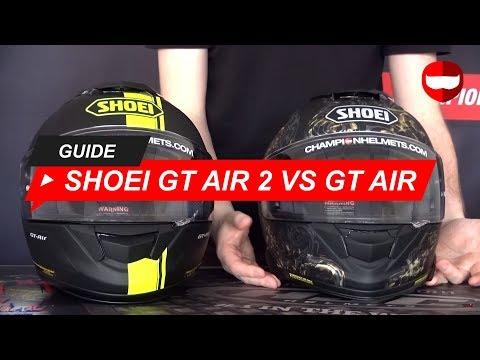 dba73c47 Shoei GT Air 2 vs Shoei GT Air - ChampionHelmets.com - YouTube
