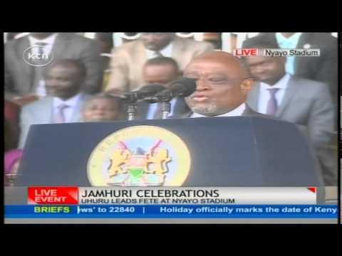 51st Jamhuri Celebrations: VP of Comoros Mohammed Ali gives his speech