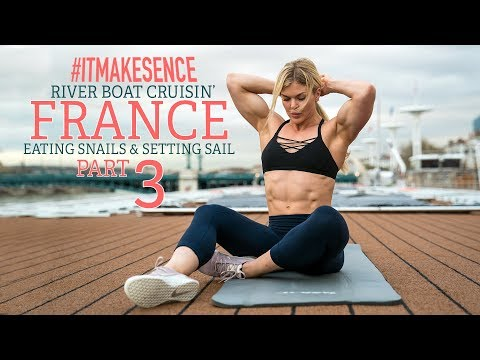 Brooke Ence - River Boat Cruisin' FRANCE PART 3 - Eating Snails and Setting Sail