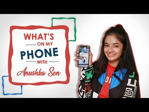 What's On My Phone With Anushka Sen | Phone Secrets Revealed | Exclusive