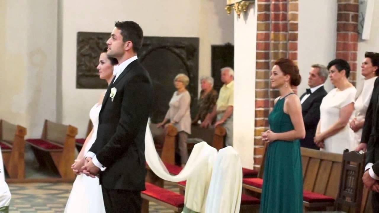 ślub łukasza Fabiańskiego Szamotulokpl Youtube