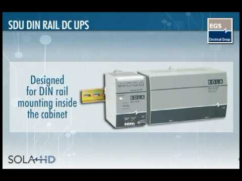 Sola HD SDU Off-Line DIN Rail UPS