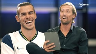 Peter Crouch quizzes Gareth Bale all about his first spell at Tottenham