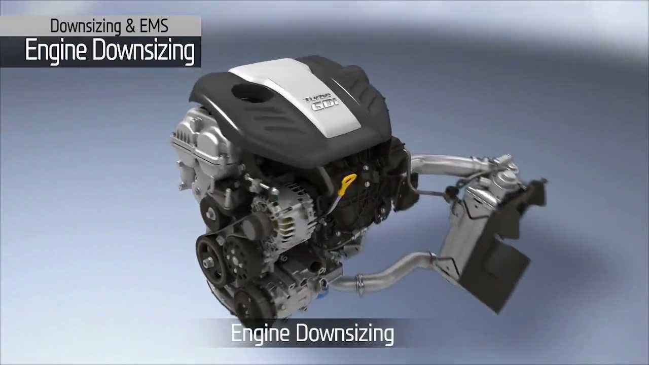 Hyundai - Gamma 1.6 T-GDI Engine - YouTube