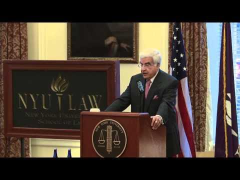 Professor Arthur Miller's Inaugural University Professorship Lecture