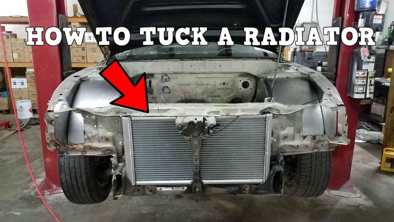 maxresdefault how to tuck a s13 240sx radiator! chasebays tucked radiator s13 fuse box tuck at n-0.co