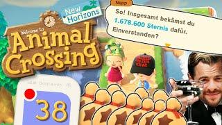 ZUSCHAUERIN macht mich zum STERNI-MILLIONÄR! Berits Camargue 🏝️ ANIMAL CROSSING: NEW HORIZONS #38