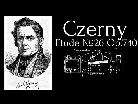Carl Czerny - Etude №26 in A major Op.740