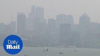 Seattle's air is worse than Beijing after wildfires create smoke
